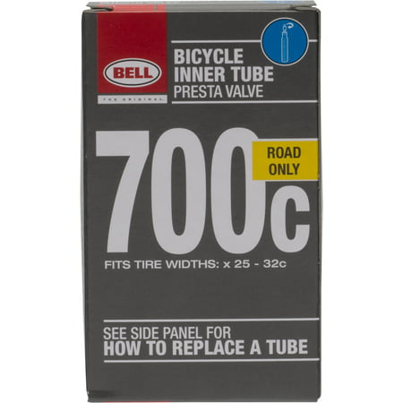 Bell Standard Presta Bicycle Inner Tube, 700c x