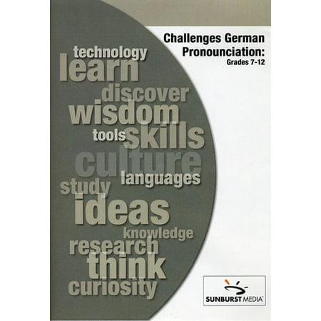 Challenges of German Pronunciation (DVD)