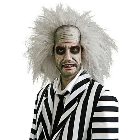 Morris Costumes Mens Tv & Movie Characters Beetlejuice Wig, Style RU51738](Bettlejuice Costume)