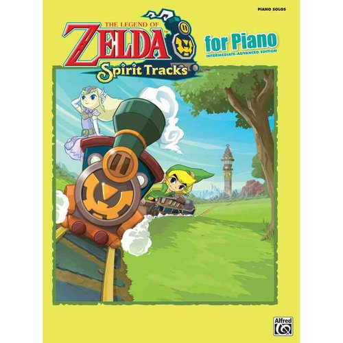 The Legend of Zelda: Spirit Tracks for Piano: Intermediate-Advanced Edition