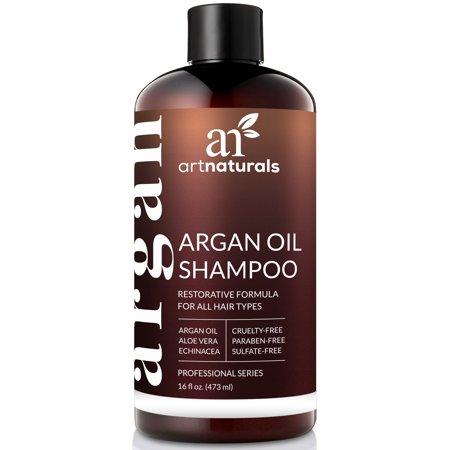 Art Naturals Organic Daily Argan Oil Sulfate Free Shampoo, 16