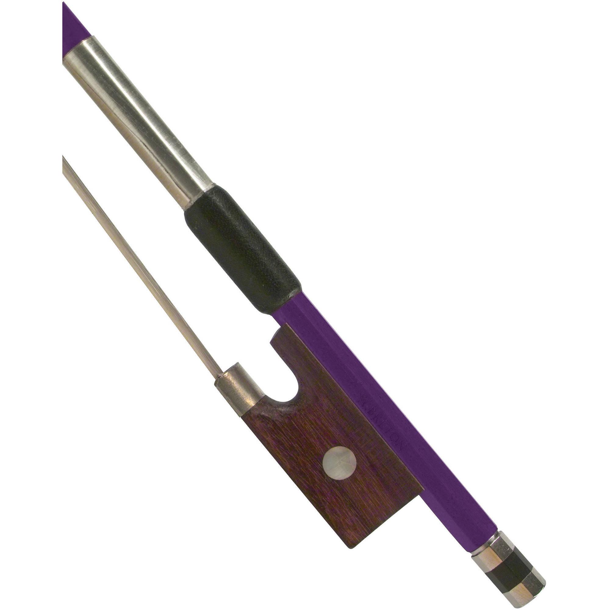 Anton Breton AB-110PP Brazilwood Student Violin Bow - 4/4 Size - Purple