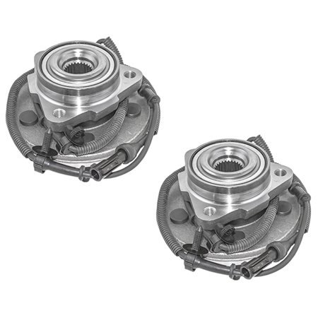 Pair of Front Wheel Hub Bearings Replacement for Ford Explorer Lincoln Aviator Mercury Mountaineer 4L2Z1104AA 1998 Ford Explorer Replacement