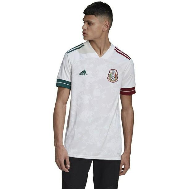 adidas Mexico Away Mens Soccer Jersey- 2020 | GC7940