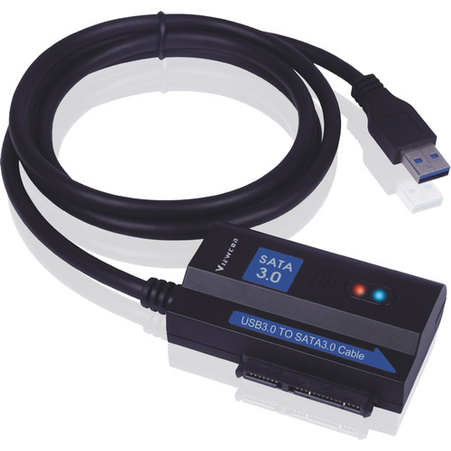Tera Grand USB 3.0 to SATA 3.0 Adapter Cable with US Power Adapter