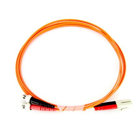 Fiber Optic Cable - Multimode Duplex 50/125 - LSZH - LC/ST - 2 Meter 125um Duplex Multimode 2 Meters