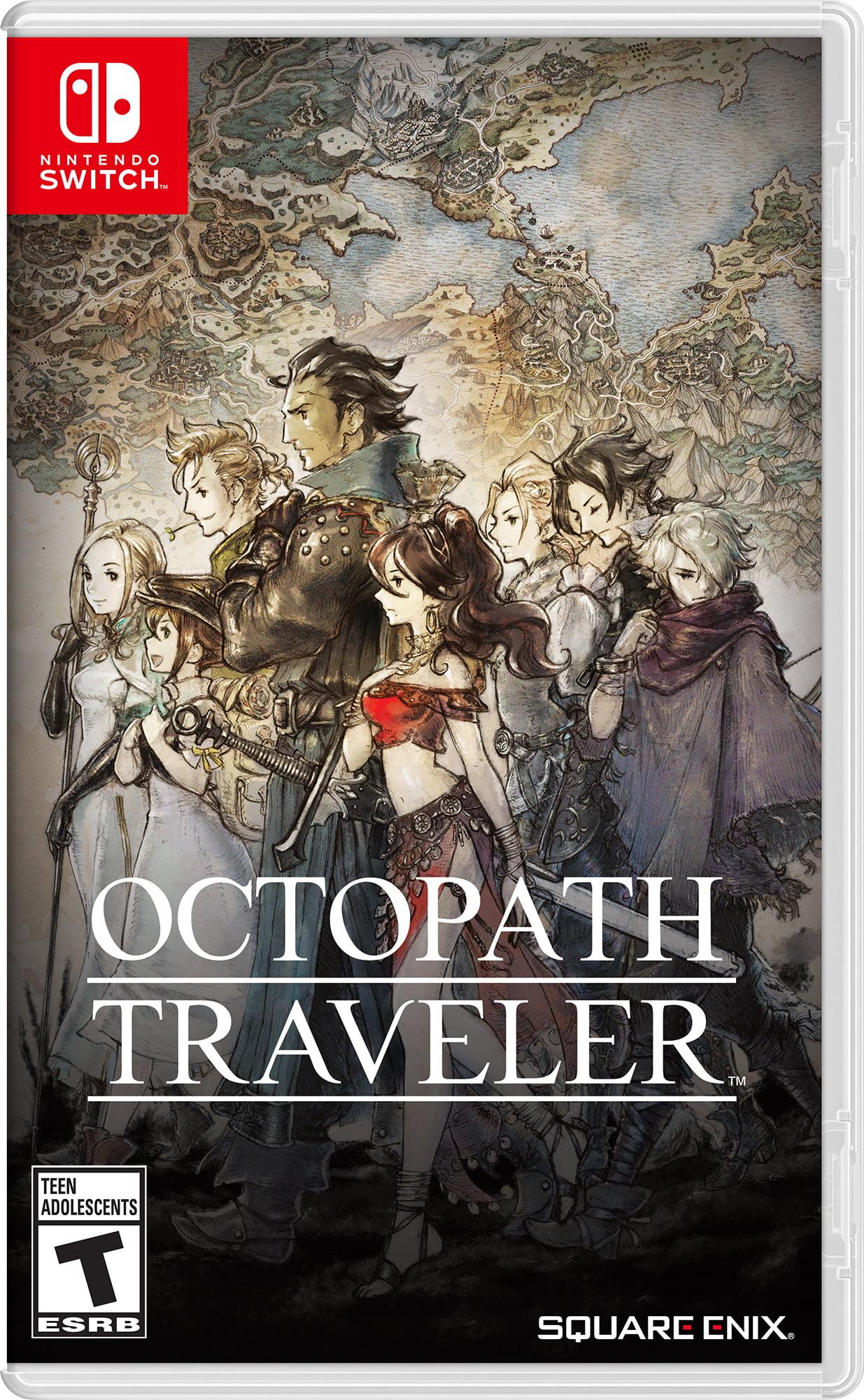 Square Enix Octopath Traveler, Nintendo, Nintendo Switch, 045496592134