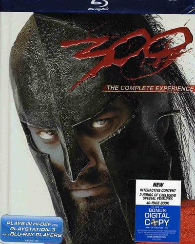 300 (2007) (Blu-ray + Digital Copy)