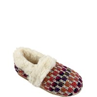 Secret Treasures Women's Knit Slip On Slipper