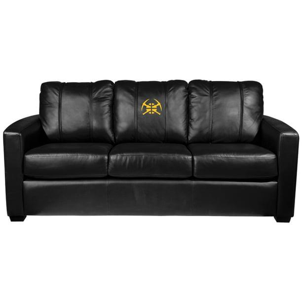 Denver Nuggets NBA Silver Sofa with Secondary Logo Panel ...