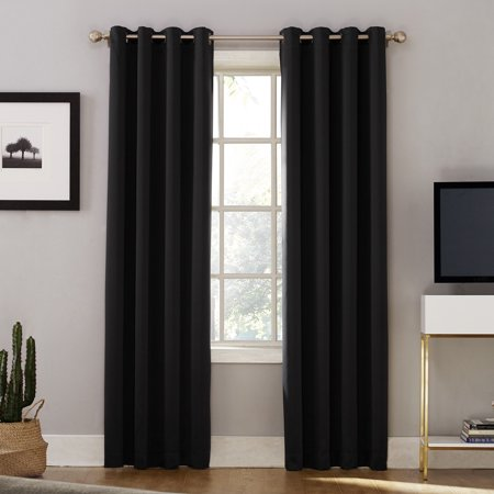 Sun Zero Oslo Theater Grade 100 Blackout Grommet Curtain Panel