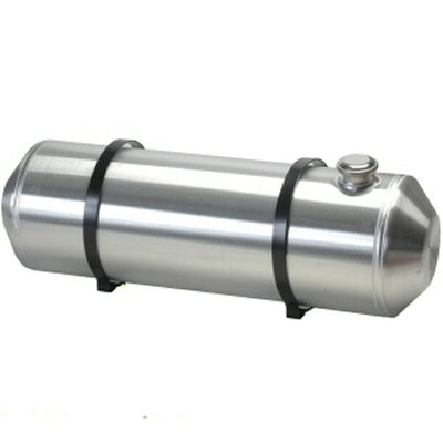 8 Inches X 26 Spun Aluminum Gas Tank 5.5 Gallons For Dune Buggy, Sandrail, Hot Rod, Rat Rod, Trike