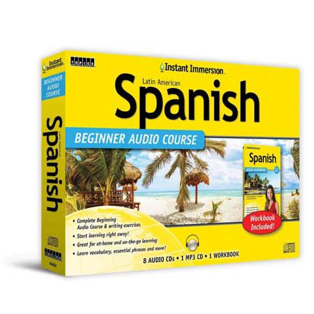 Instant Immersion Spanish Beginner Audio Course  Latin American
