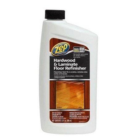 Zuhfr32 Zep Hardwood & Laminate Floor Refinisher, 32oz