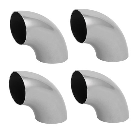 4pcs 304 Stainless Steel Hand Rail Elbow Fittings 32mm Tube