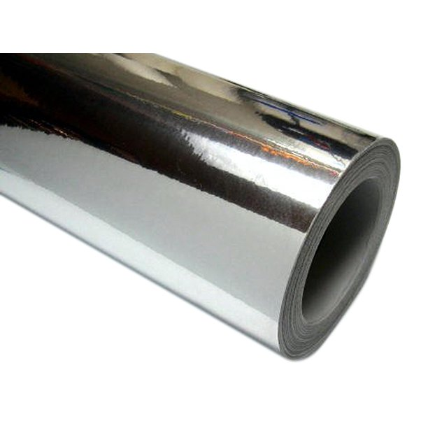 24 X 10 Ft Roll Of Silver Chrome