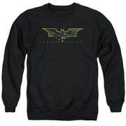 Batman Begins Coming Through Mens Crewneck Sweatshirt