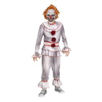 Halloween Boy's Twisted Clown costume by Fun World