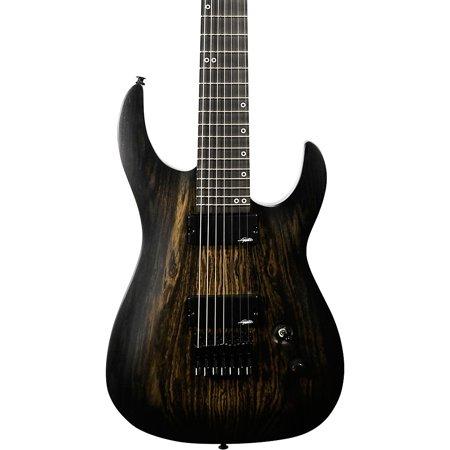 Legator Ninja Performance 7 Ebony Fingerboard Electric Guitar Black Bocote