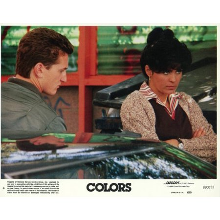 colors 1988 movie poster