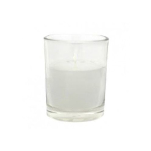 Jeco Inc. Citronella Round Glass Votive Candle (Set of 12)