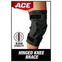 ACE Brand Stabilizing Hinged Knee Brace, Adjustable, Left or Right Knee