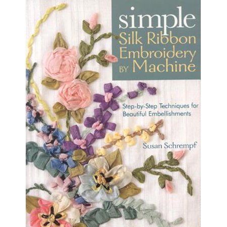 Simple Silk Ribbon Embroidery by - Simple Silk Ribbon Embroidery