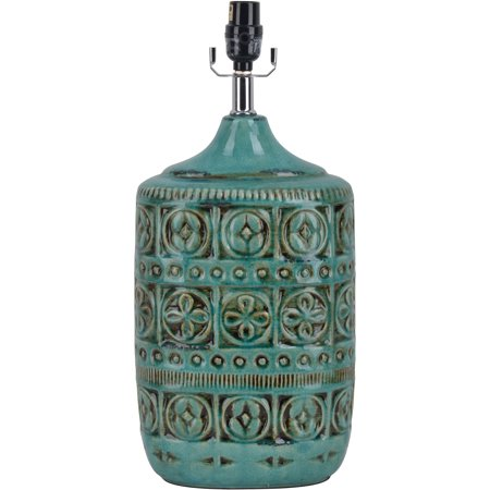Ceramic Table Lamp Teal