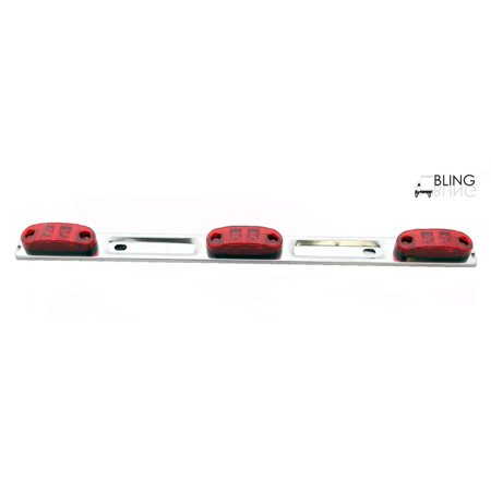 Trailer Light Bar - LED Red 16