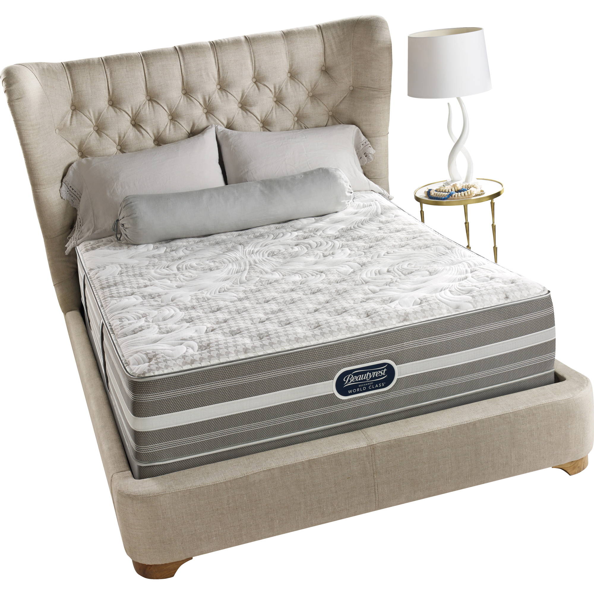 "Beautyrest Recharge World Class Irving Ultimate 13"" Firm Mattress, Multiple Sizes"