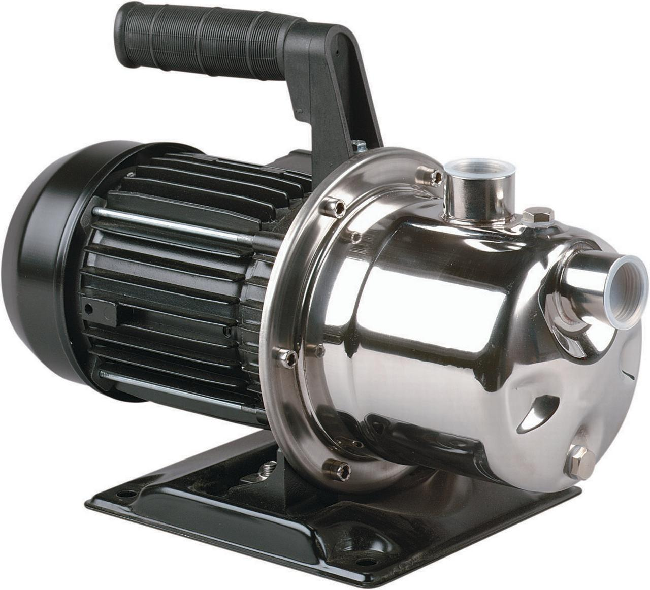 Simer 2825SS Non-Submersible Utility Pump, 10 gpm, 1 hp, ...