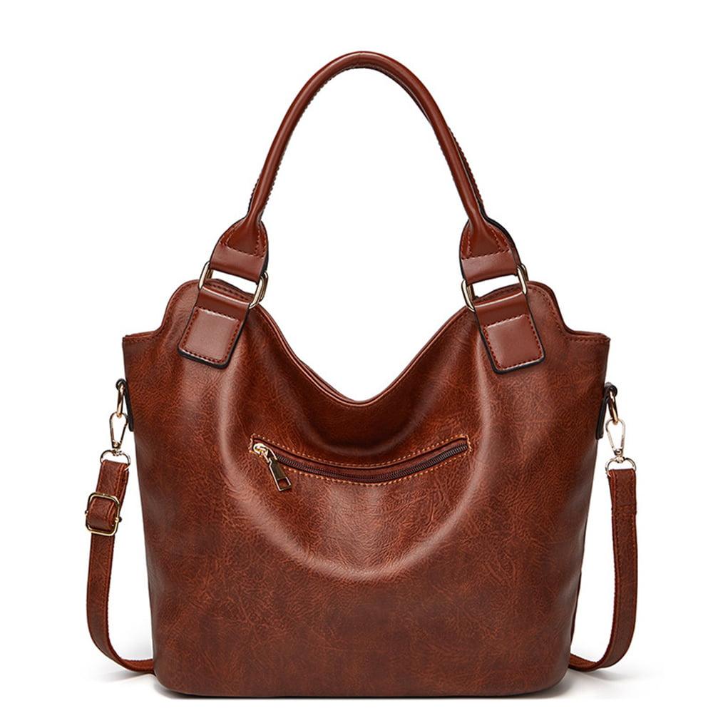 Details about  /Womens Fashion Top-Handle Handbag Zipper Closure Purse Wallet Tote Satchel