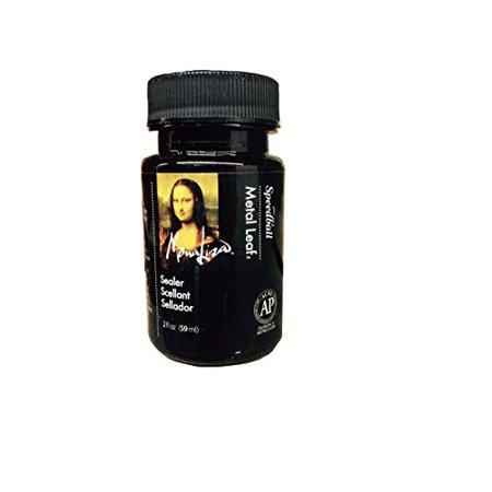 Speedball 10218 Mona Lisa Water-Based Sealer for Metal Leafing Projects - Clear, Fast Drying, Sealant - 2 Ounces - image 1 of 1