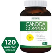 Best Candida Cleanse Supplements - Healths Harmony Candida Cleanse (Non-GMO) 120 Capsules: Extra Review