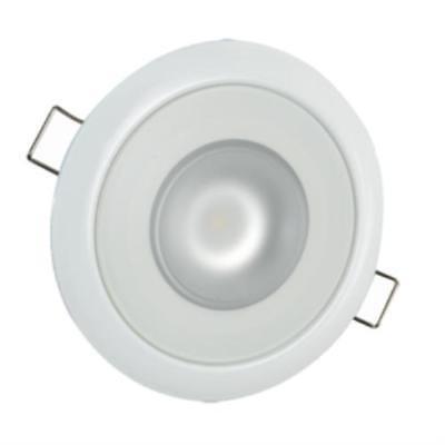Lumitec Mirage Flush Mount Down Light Spectrum RGBW - White Housing - Indoor Flush Mount Housing