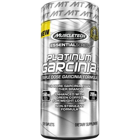 Platinum Garcinia Plus - 21 Caplets - Exp. 4-17 (grain de café vert)