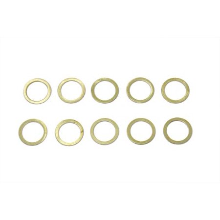 Fuel Petcock Valve Rod Lower Brass Seal,for Harley Davidson,by V-Twin Harley Davidson Petcock