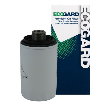 ECOGARD X35895 Spin-On Engine Oil Filter for Conventional Oil - Premium Replacement Fits Volkswagen Tiguan, CC, Jetta, GTI, Passat, Eos, Beetle, Passat CC / Audi Q5, A4 Quattro, A5 Quattro, A4