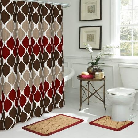 Clarisse 15-Piece Bathroom Shower Set ()