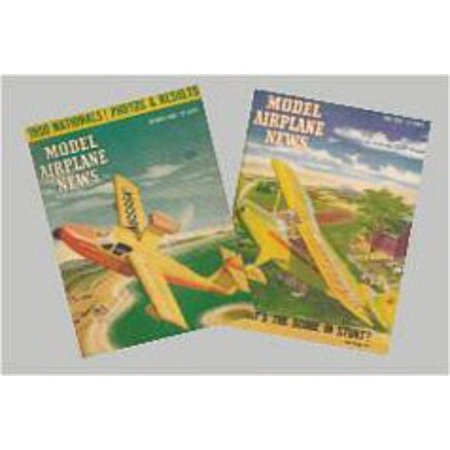 Dollhouse Vintage Model Airplane Magazine - Dolls House Magazine