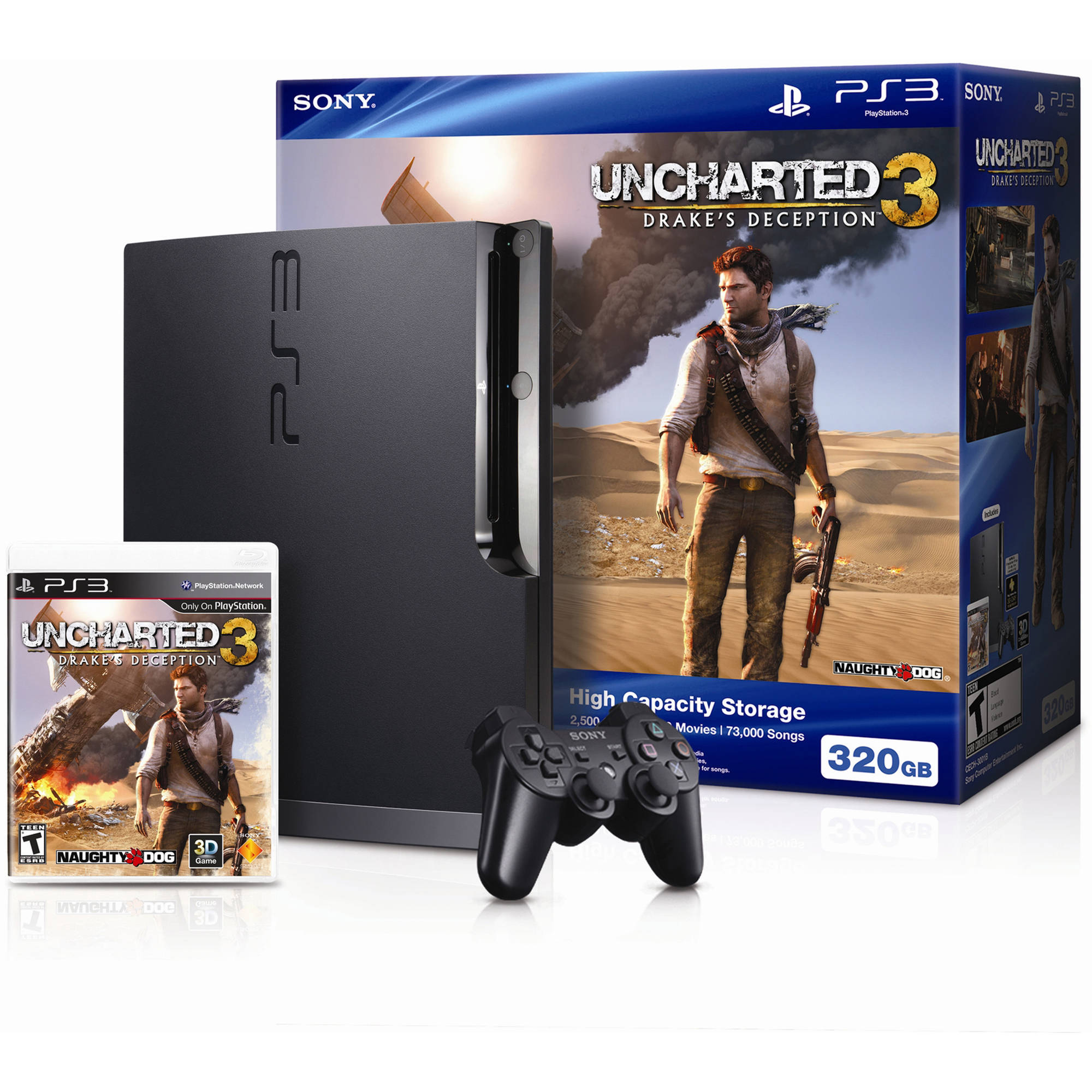 PlayStation 3 320GB Uncharted 3 Bundle (PS3)
