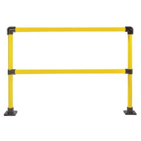 Handrail Section - HOLLAENDER 50231 Handrail Section, 6 Ft, Steel