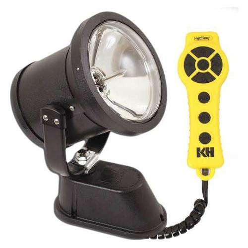 KH INDUSTRIES NR4S-1D050-WD Dual Vehicle Spotlight, 50W, 12VDC, 8.2A