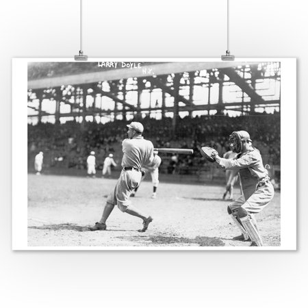 Larry Doyle, NY Giants, Baseball Photo #1 (9x12 Art Print, Wall Decor Travel Poster) - Ny Giants Decor