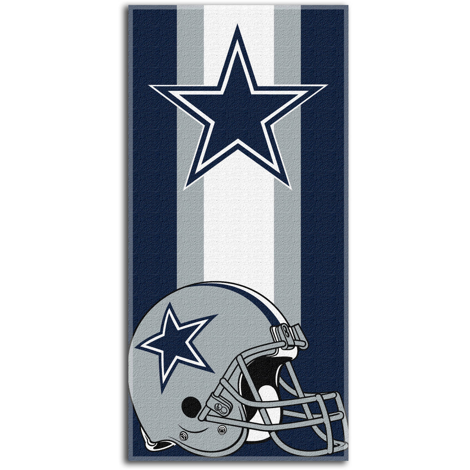 "NFL Dallas Cowboys ""Zone Read"" 30"" x 60"" Beach Towel"