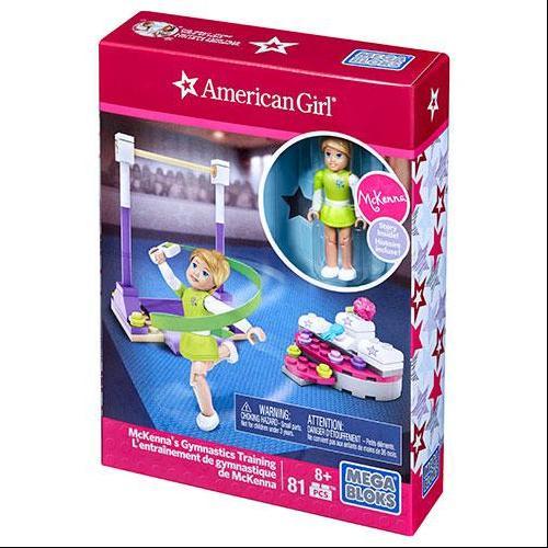 American Girl McKenna's Gymnastics Training Set Mega Bloks 31923