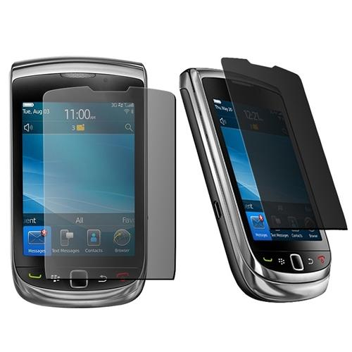 INSTEN 4 Packs Privacy LCD Screen Protector Cover For Blackberry Torch 9800