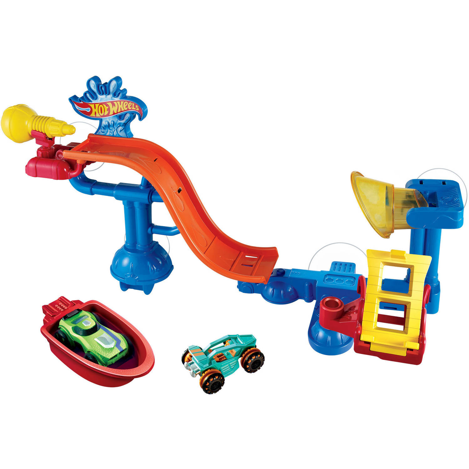 Hot Wheels Splash Rides Splashdown Station Playset