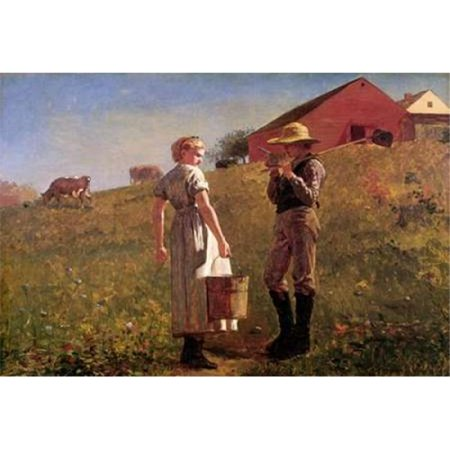 Bentley Global Arts PDX373224SMALL Gloucester Farm Poster Print by Winslow Homer, 10 x 14 - Small - image 1 de 1