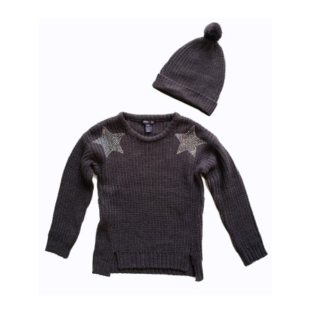 48c95a99d Limited Too - Limited Too Embellished Chenille Sweater With Beanie ...